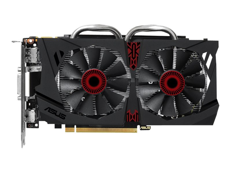 Asus GeForce GTX 950 PCIe Graphics Card, 2GB GDDR5, STRIX-GTX950-DC2OC-2GD5-G