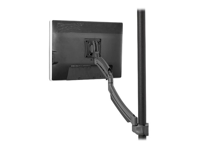 Chief Manufacturing Kontour K1P Dynamic Pole Mount, 1 Monitor - Black (TAA Compliant)