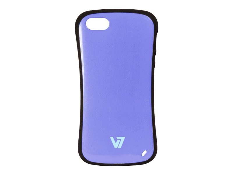 V7 Extreme Guard iPhone 5 Case, Purple, PA19SPUR-2N, 15988197, Carrying Cases - Other