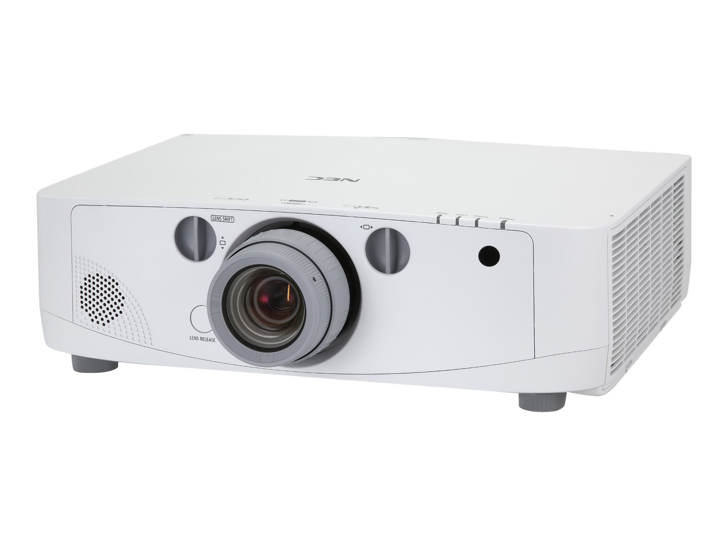 NEC Bundle PA600X XGA LCD Installation Projector with NP13ZL Lens, NP-PA600X-13ZL, 12589473, Projectors