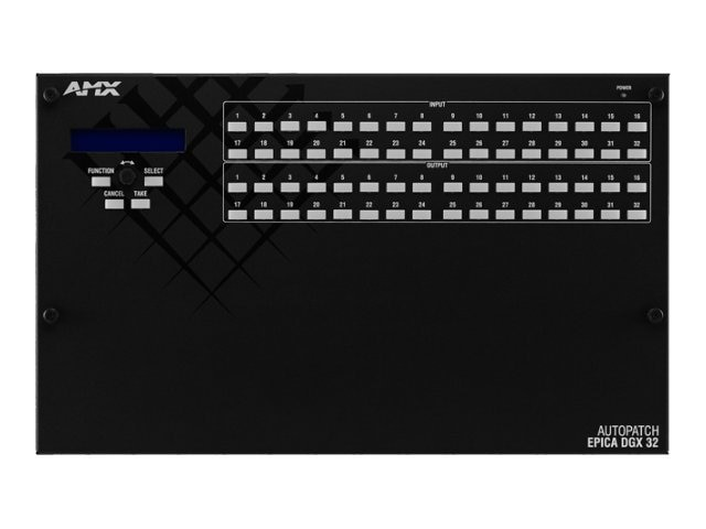 AMX Epica DGX 32 Pre-Engineered Matrix Switchers, FGP56-3216-DD0
