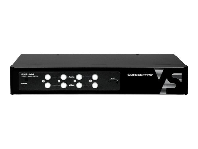 Connectpro 4-Port A V VGA Switch, AVS-14-I, 15204719, Switch Boxes - AV