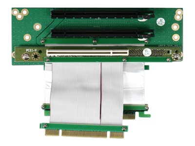 iStarUSA Riser Card with (2x) PCIe x16 and (1x) PCI for 643 Only, DD-643661