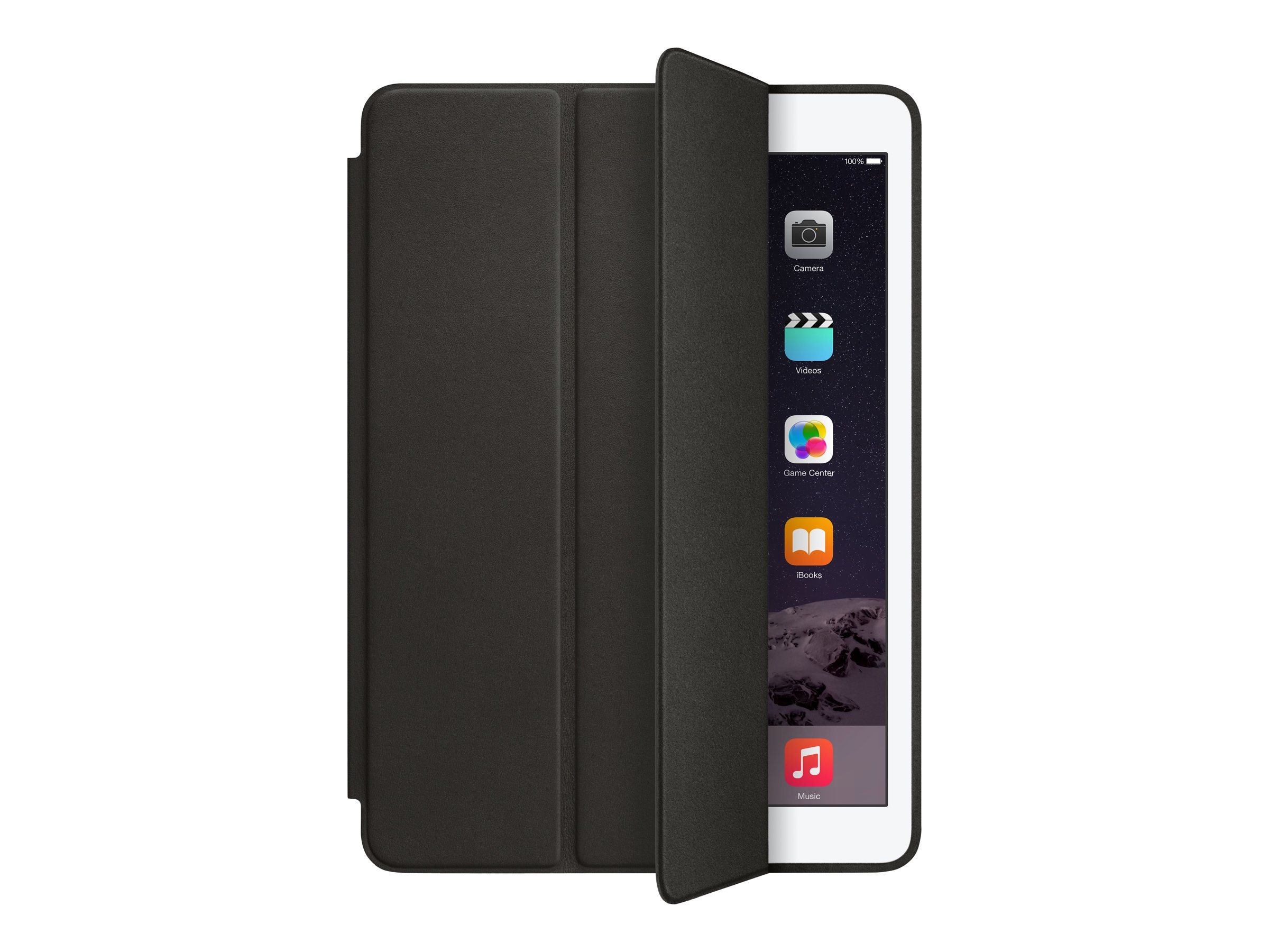 Apple iPad Air 2 Smart Case, Black, MGTV2ZM/A, 17959630, Carrying Cases - Tablets & eReaders