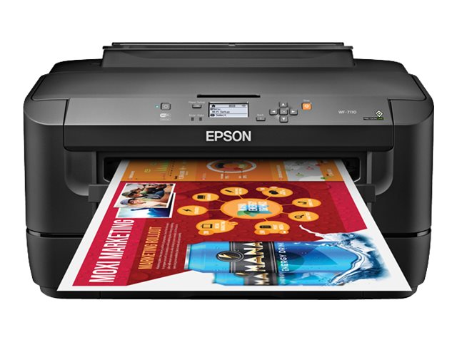 Epson WorkForce WF-7110 Inkjet Printer - $199.99 less instant rebate of $40.00, C11CC99201, 17456725, Printers - Ink-jet