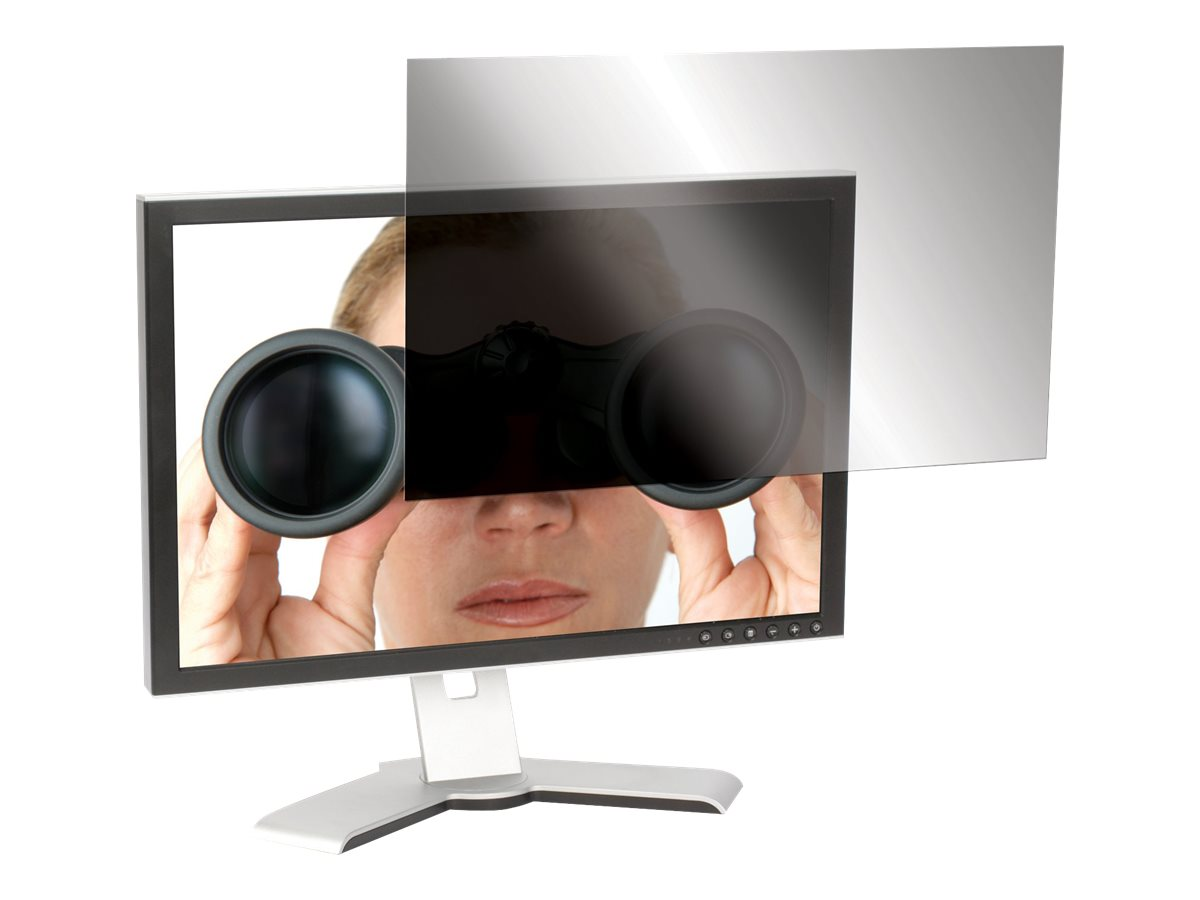Targus 24 Widescreen LCD Monitor Privacy Filter, ASF24WUSZ, 8156181, Glare Filters & Privacy Screens
