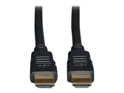 Tripp Lite Hi-Speed HDMI M M Cable with Ethernet, Black, 3ft