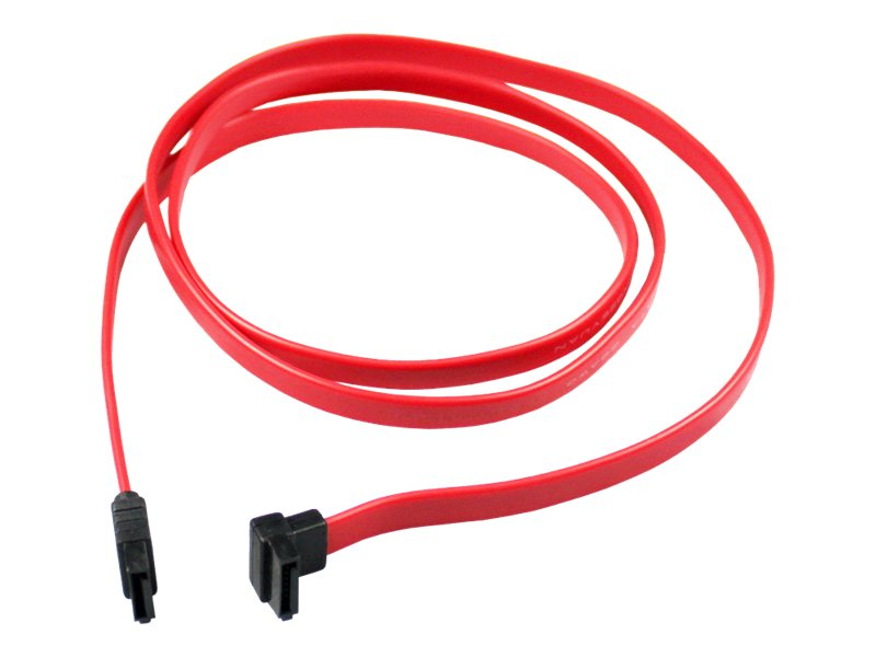 CP Technologies Clearlinks Right Angle SATA Cable, 36in, CL-SATA-36-R90