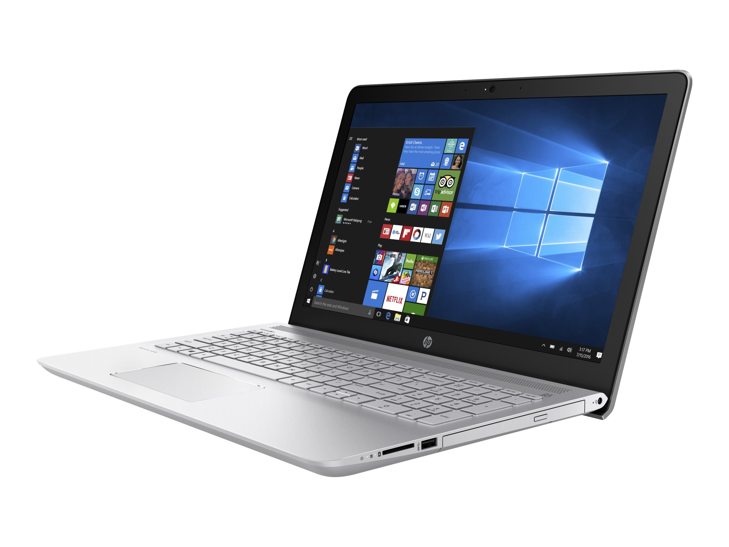 HP Notebook PC Core i5-7200 8GB 1TB 15 MT W10