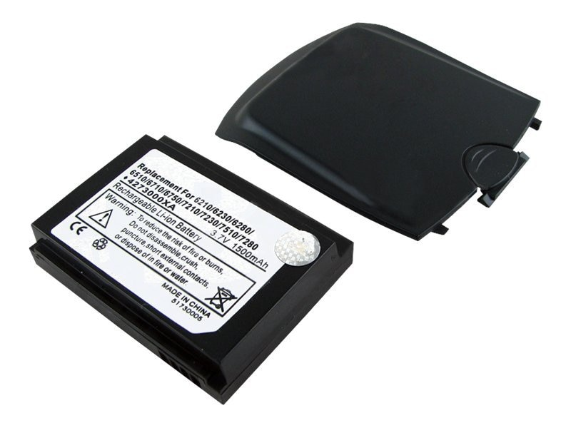 BTI Battery, Lithium-Ion, 3.7 Volts, 1500mAh, for RIM, PDA-BB-6510H, 8443252, Batteries - Other