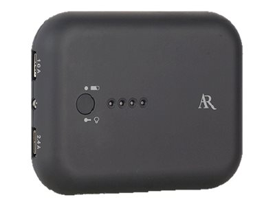 Audiovox AR Here to Anywhere Power Bank w  Flashlight, PB100FL, 30930882, Battery Chargers