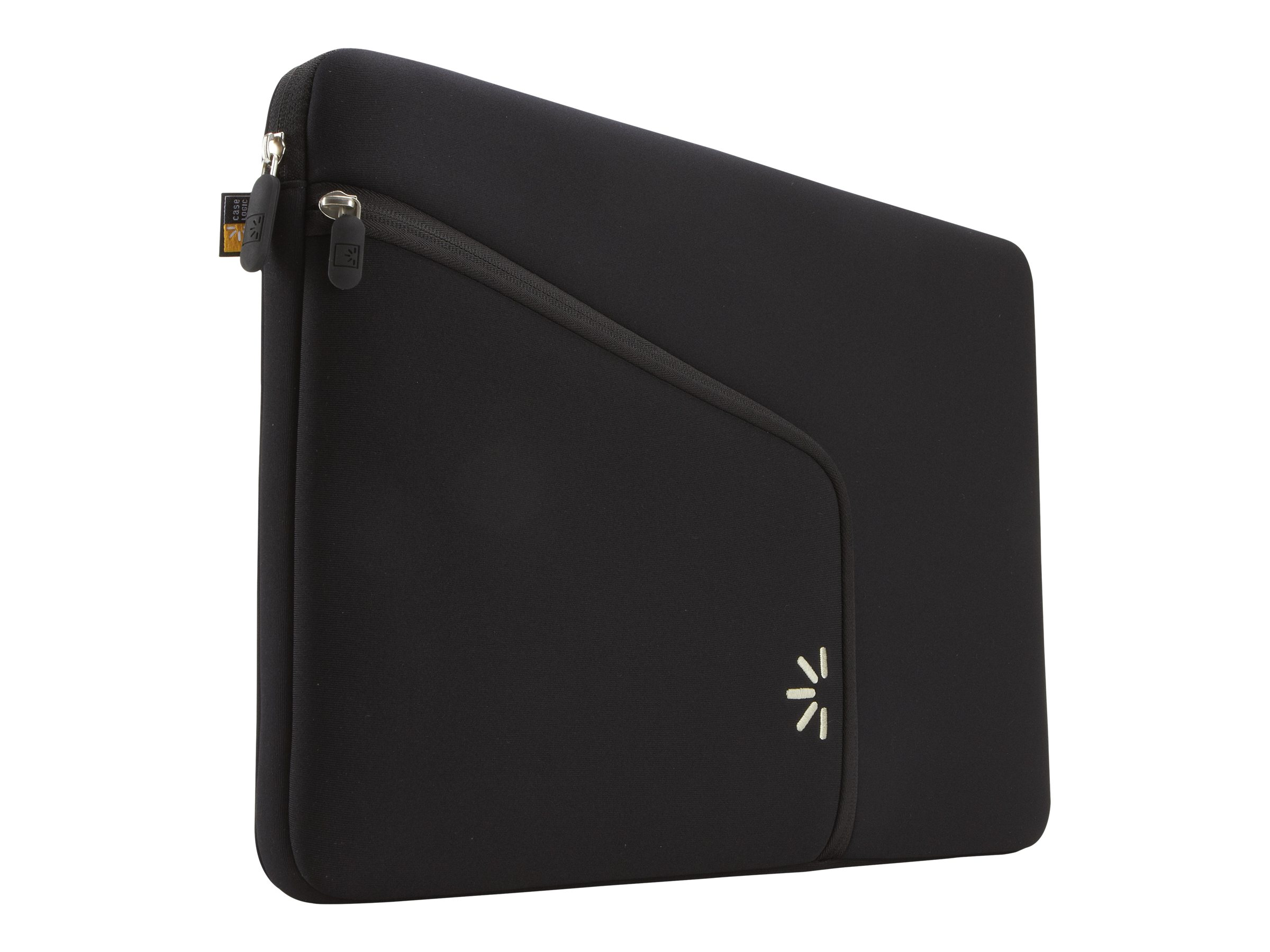 Case Logic 15 MacBook Pro Sleeve, Black, PAS-215BLACK, 10903115, Protective & Dust Covers