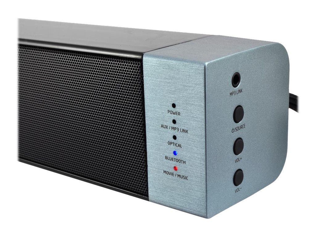 Pyle BT Stereo Soundbar Digital Speaker System, PSBV250BT