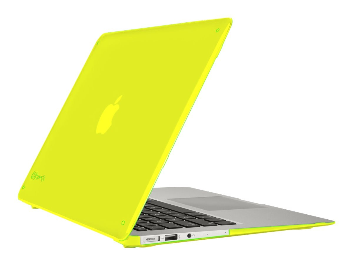 Speck SeeThru Case for MacBook Air 13, Lightning Yellow, SPK-A2977, 19052901, Carrying Cases - Notebook