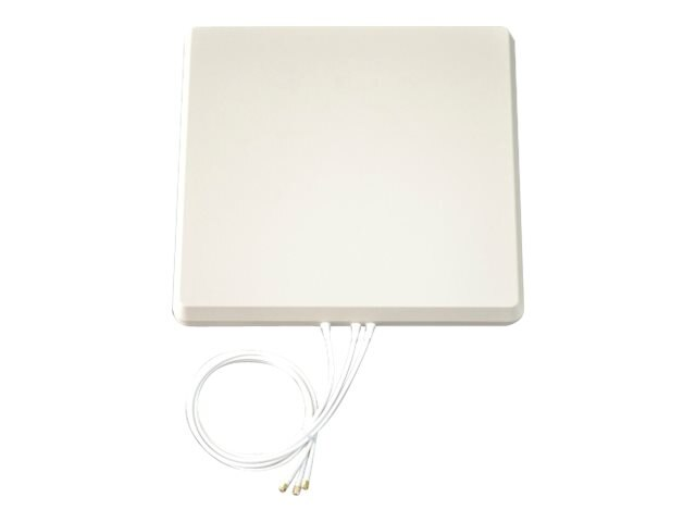Tessco MIMO 2.4 5 GHz 6 dBi Patch Antenna, M6060060P1D320