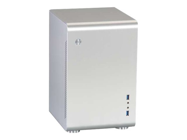 Rosewill Chassis, Legacy U2-B Tower Mini-ITX 2x3.5 Bays 1x2.5 Bay 2xSlots 1xFan, Silver, LEGACY U2-S, 16896041, Cases - Systems/Servers