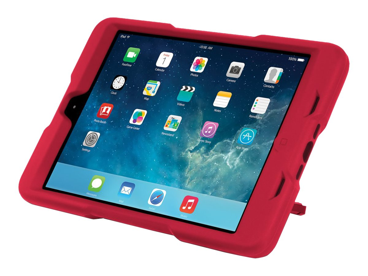 Kensington BlackBelt 2nd Degree Rugged Case for iPad mini, Red, K97081WW, 16752653, Carrying Cases - Tablets & eReaders