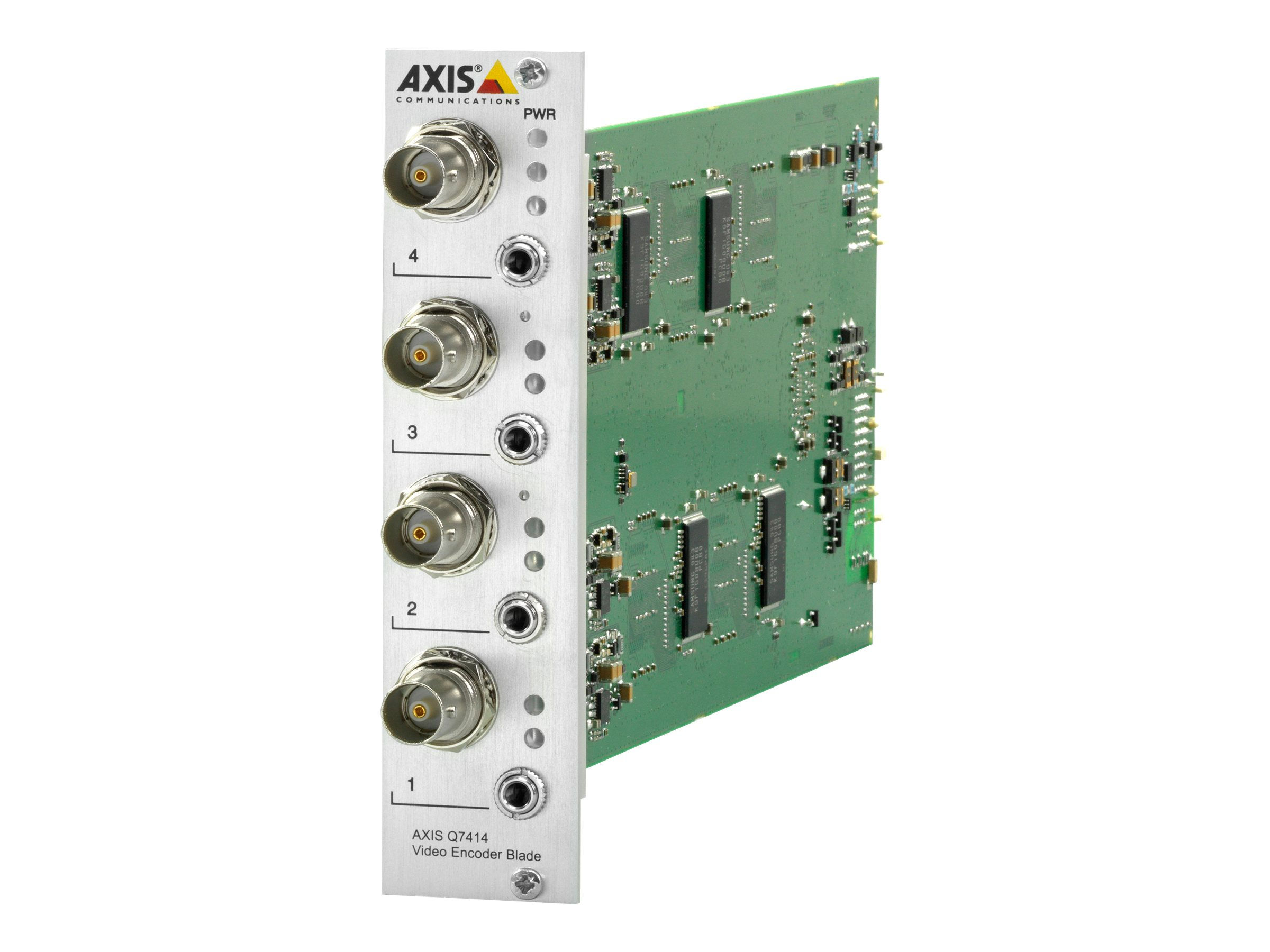 Axis Q7414 Video Encoder Blade, 0354-001, 18181778, Video Capture Hardware