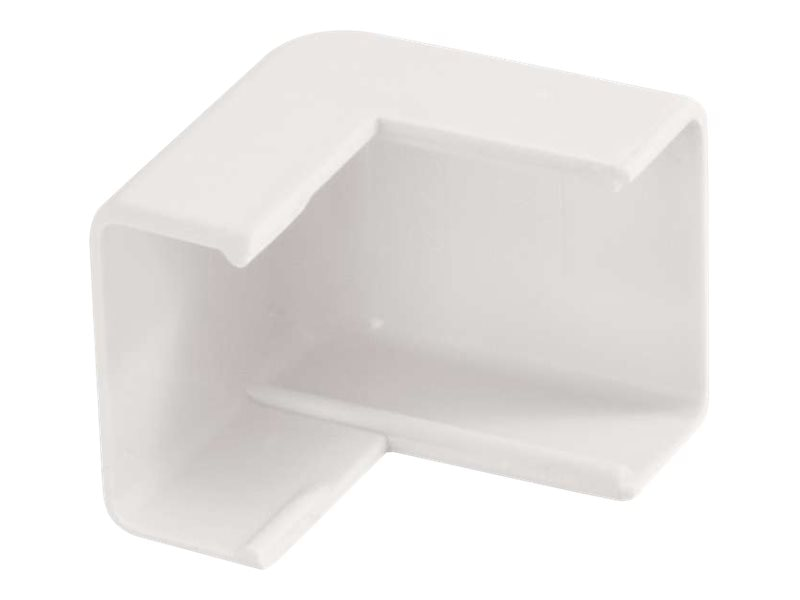 C2G Wiremold Uniduct 2700 External Elbow, White, 16066, 18016115, Cable Accessories
