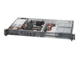 Supermicro Barebones, SuperServer 5018D 1U RM Xeon 8C SoC D-1540 2.0GHz Max.128GB DDR4 2x3.5 Bays 2x10GbE 200W, SYS-5018D-FN4T, 19804789, Barebones Systems