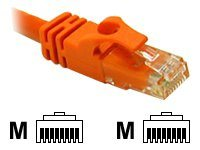 C2G Cat6 550MHz Snagless Crossover Cable, Orange, 5ft, 31382, 7560781, Cables