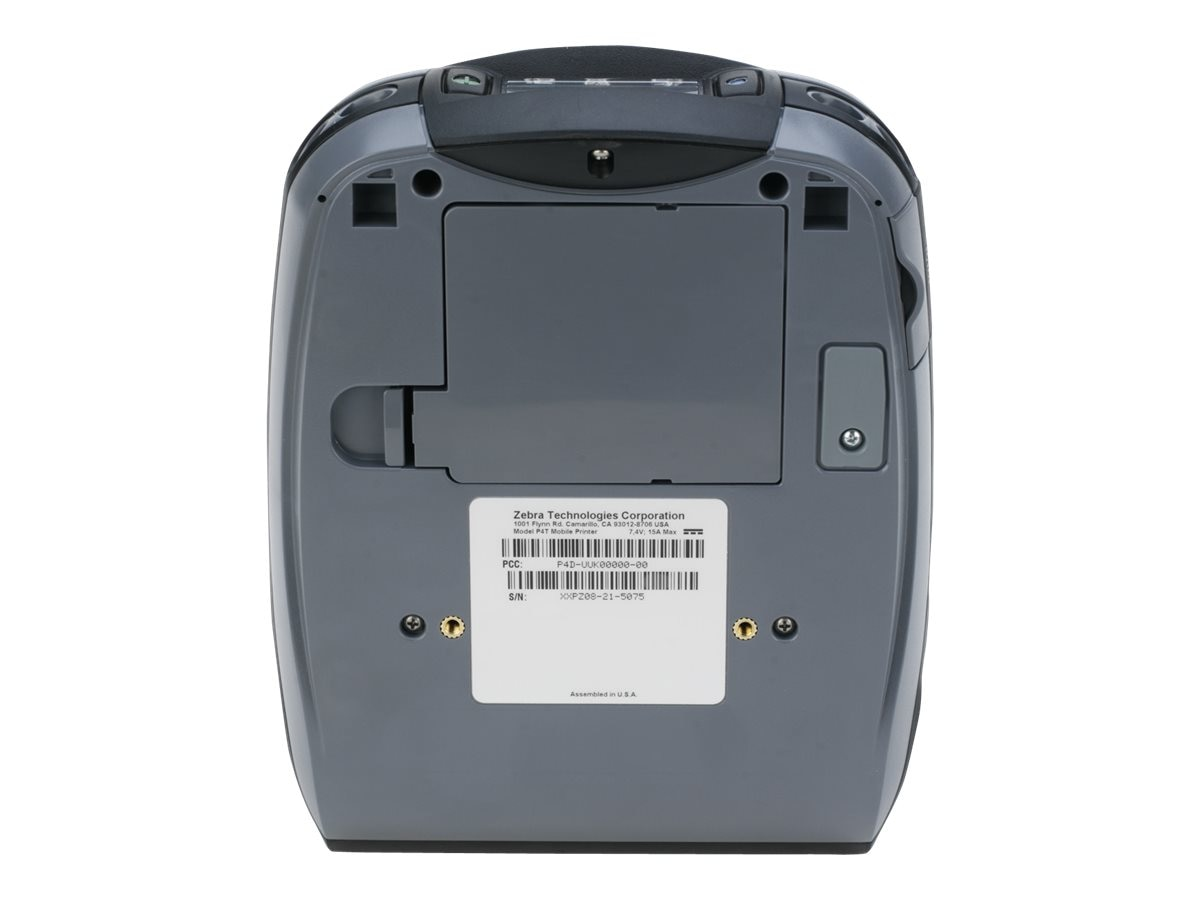 Zebra P4T Serial BT 8 16MB U L FF Printer, P4D-0UJ10000-00