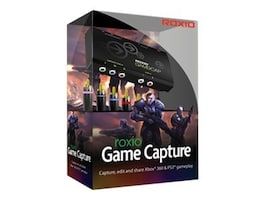 Roxio Game Capture for Windows - DVD, 248400, 12632224, Software - Video Editing