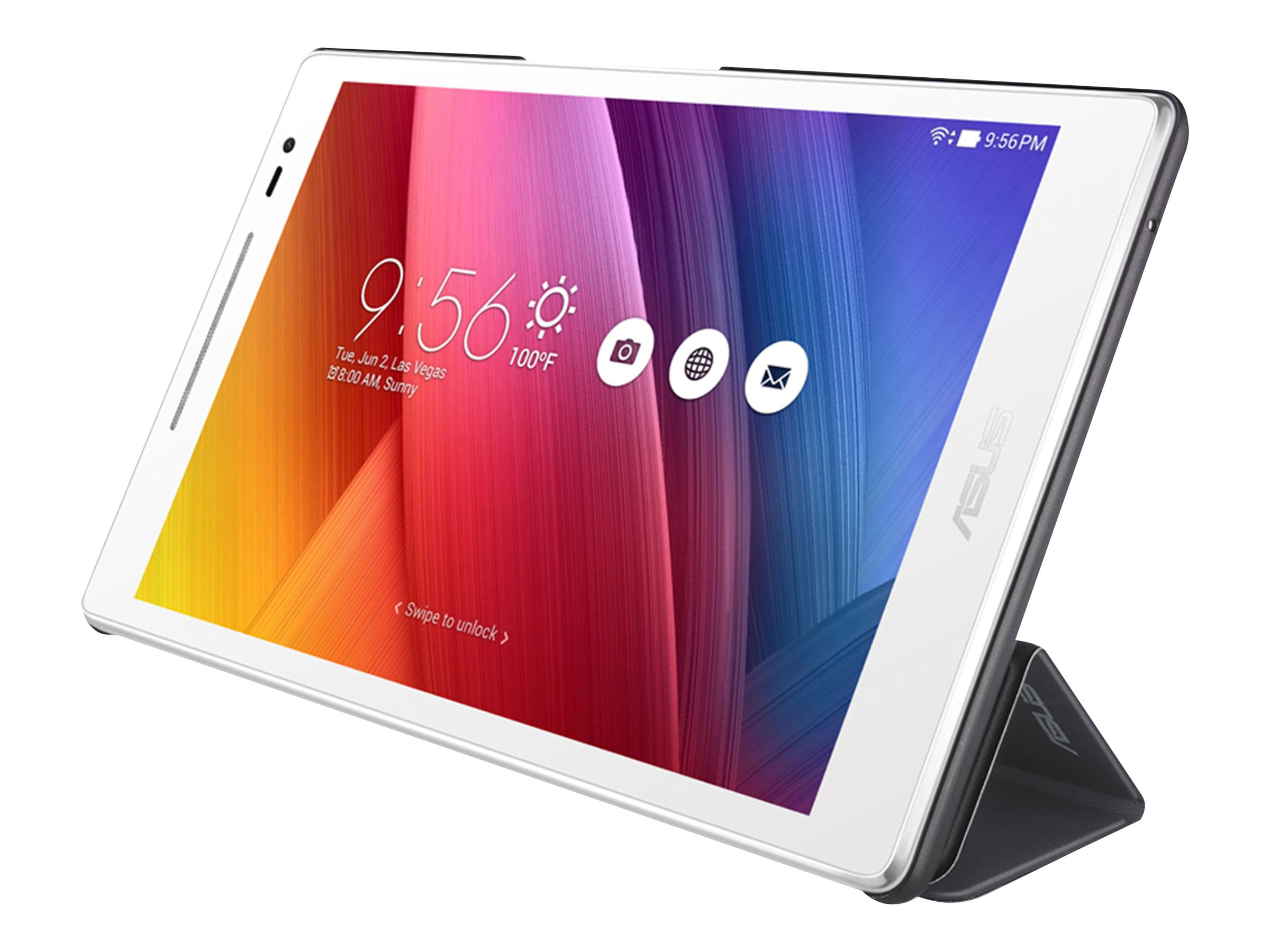 Asus Tricover for Zenpad 8.0, Black, 90XB015P-BSL310