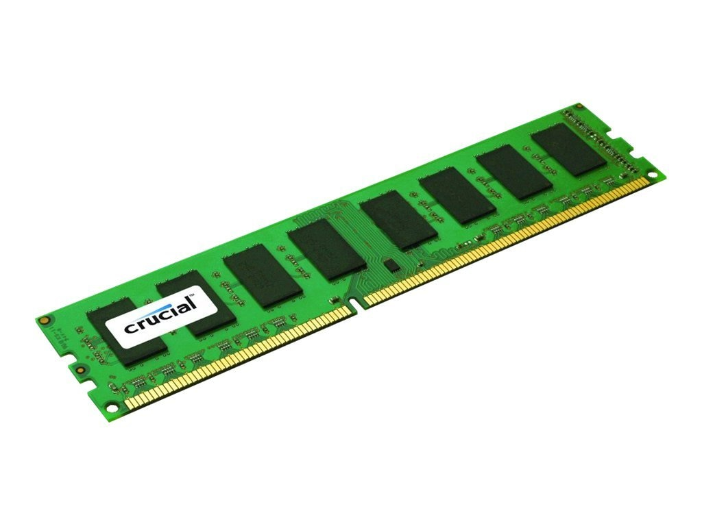 Crucial 8GB PC3-12800 240-pin DDR3 SDRAM UDIMM, CT102472BD160B, 14482055, Memory