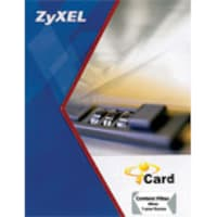 Zyxel USG100 iCard Content Filter (1 Year) Subscription for ZyXEL's ZyWALL USG 100, ICCF1YUSG100, 8917850, Services - Remote Management