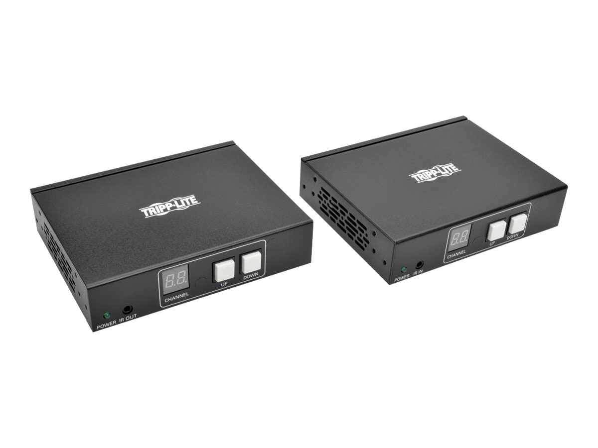 Tripp Lite HDMI DVI Audio Video with RS-232 Serial and IR Control over IP Extender Kit, 1920 x 1080 @60Hz, B160-101-HDSI