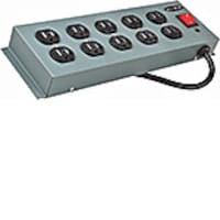 Belkin Surge Protector 885 Joules, (10) Outlets, Metal Case, 15ft. Cord, F9D1000-15, 8473996, Surge Suppressors