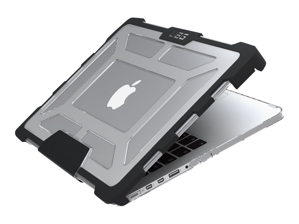Urban Armor Case for 13 MacBook Pro w  Retina Display, Ice Black, UAG-MBP13-A1502-ICE