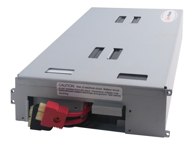 CyberPower UPS Replacement Battery Cartridge 12V 7Ah 4-Battery Pack, RB1270X4, 14775131, Batteries - Other