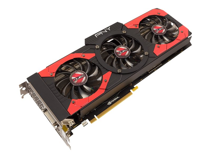 PNY GeForce GTX 1080 PCIe Overclocked Graphics Card, 8GB GDDR5X, VCGGTX10808XGPB-OC