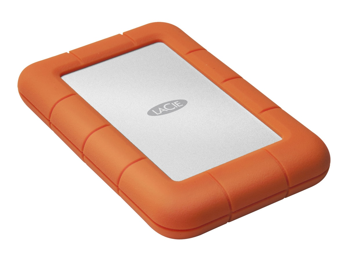 Lacie 2TB Rugged Mini USB 3.0 Mobile Hard Drive, LAC9000298