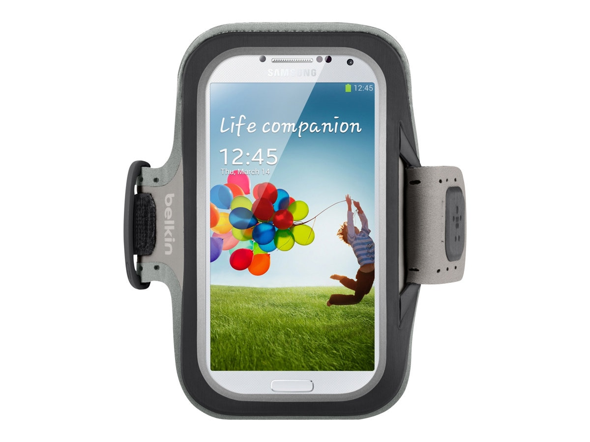 Belkin Slim-Fit Armband for Samsung Galaxy S4, Black