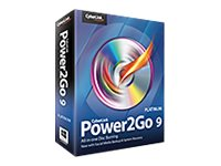 Cyberlink Power2Go 9.0 Platinum for Windows XP Vista W7 W8 DVD, P2G-E900-RPP0-00, 17341717, Software - Digital Conversion
