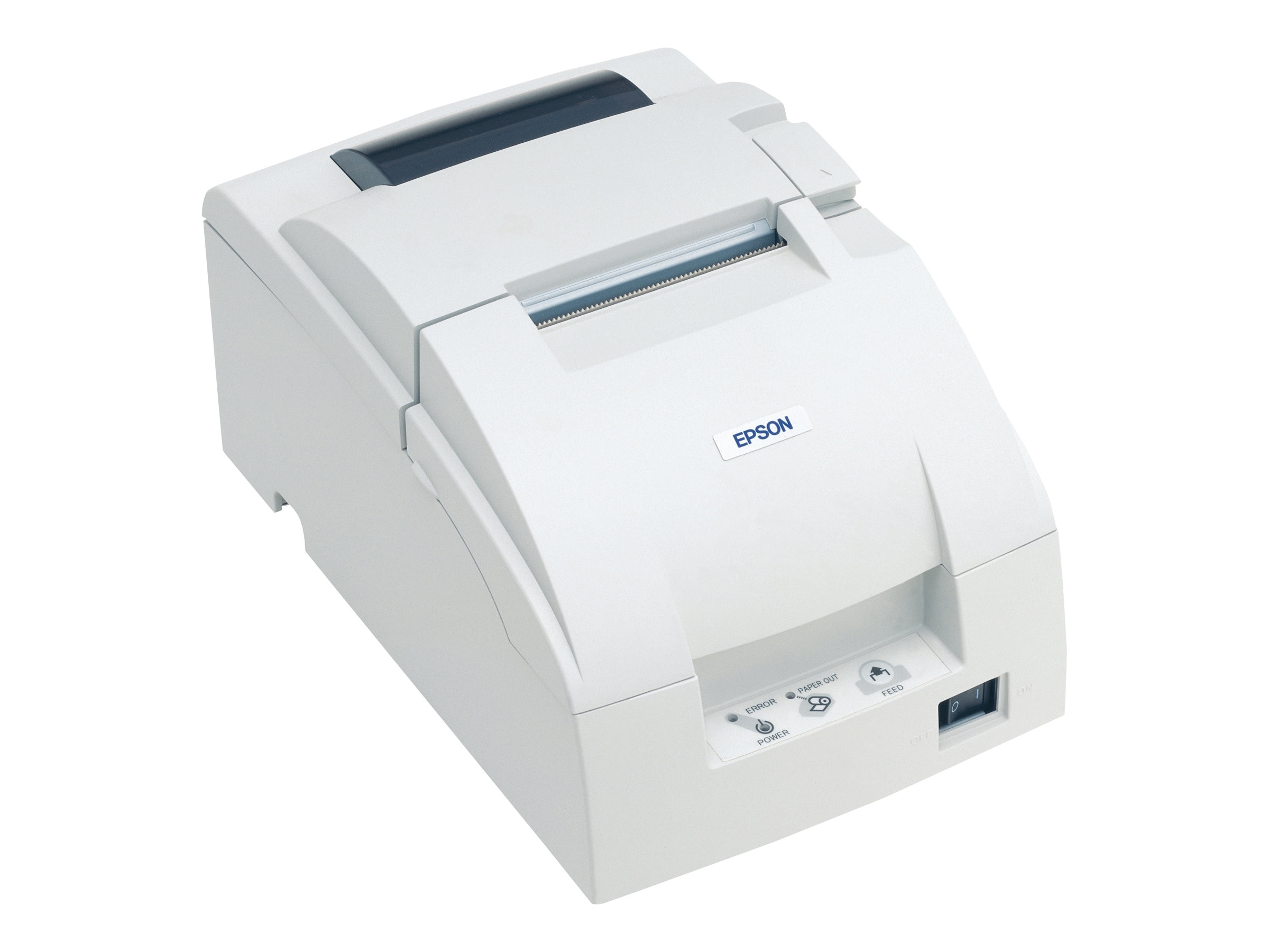 Epson TM-U220B Dot Matrix Ethernet Printer - White w  AC Power Supply, C31C514A8201, 14450230, Printers - POS Receipt