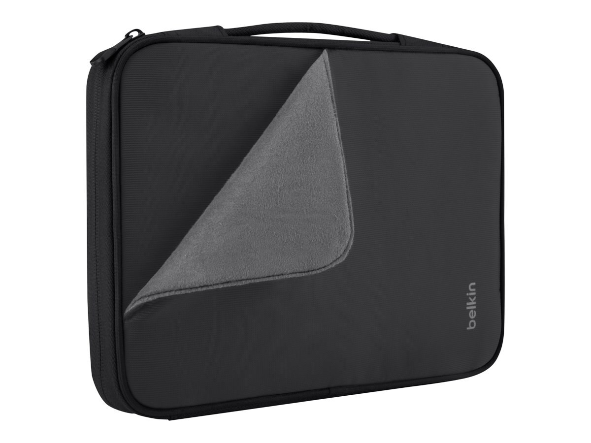 Belkin Slim Travel Sleeve for iPad 4 & 10 Tablet, Black, B2B068-C00, 15755975, Protective & Dust Covers