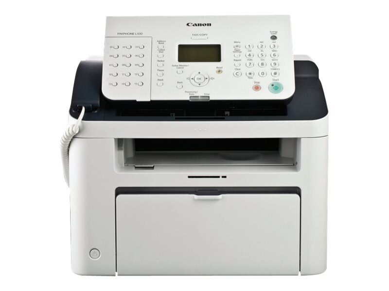 Canon L100 Plain Paper Fax Machine, 5258B001