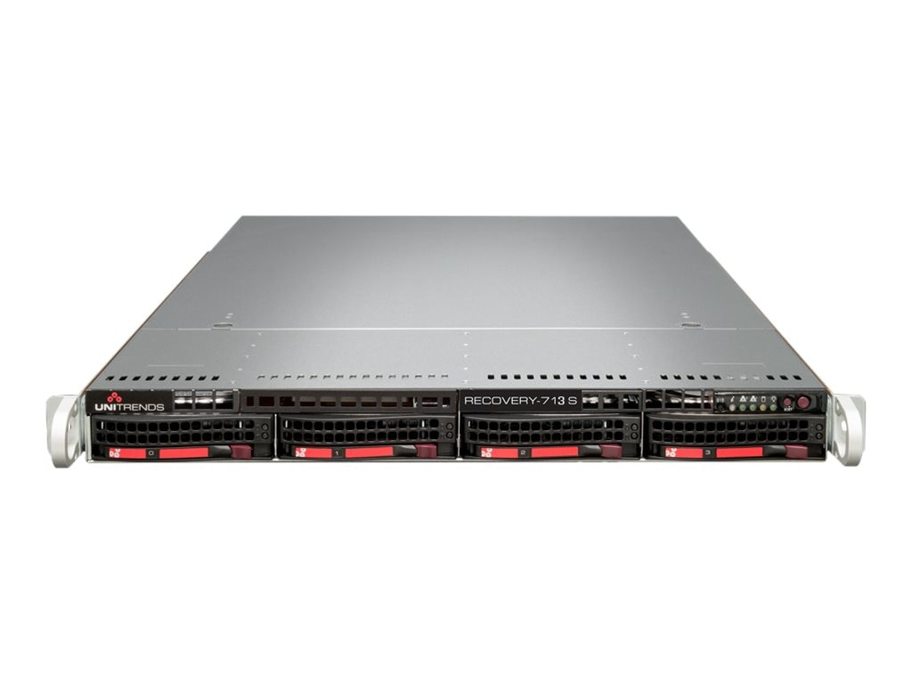 Unitrends Recovery 713 Backup Appliance with 1 Year Support, RC713S-1, 18476402, Disk-Based Backup