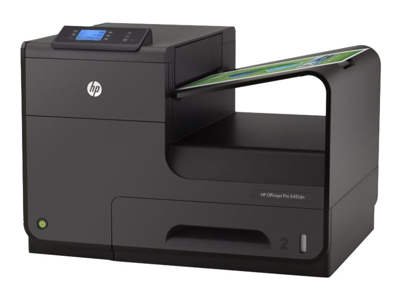 HP Officejet Pro X Series X451dn Color Printer, CN459A#B1H, 15056795, Printers - Ink-jet