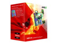 AMD Processor, A4-6300 DC 3.9GHz 1MB 65W, Box