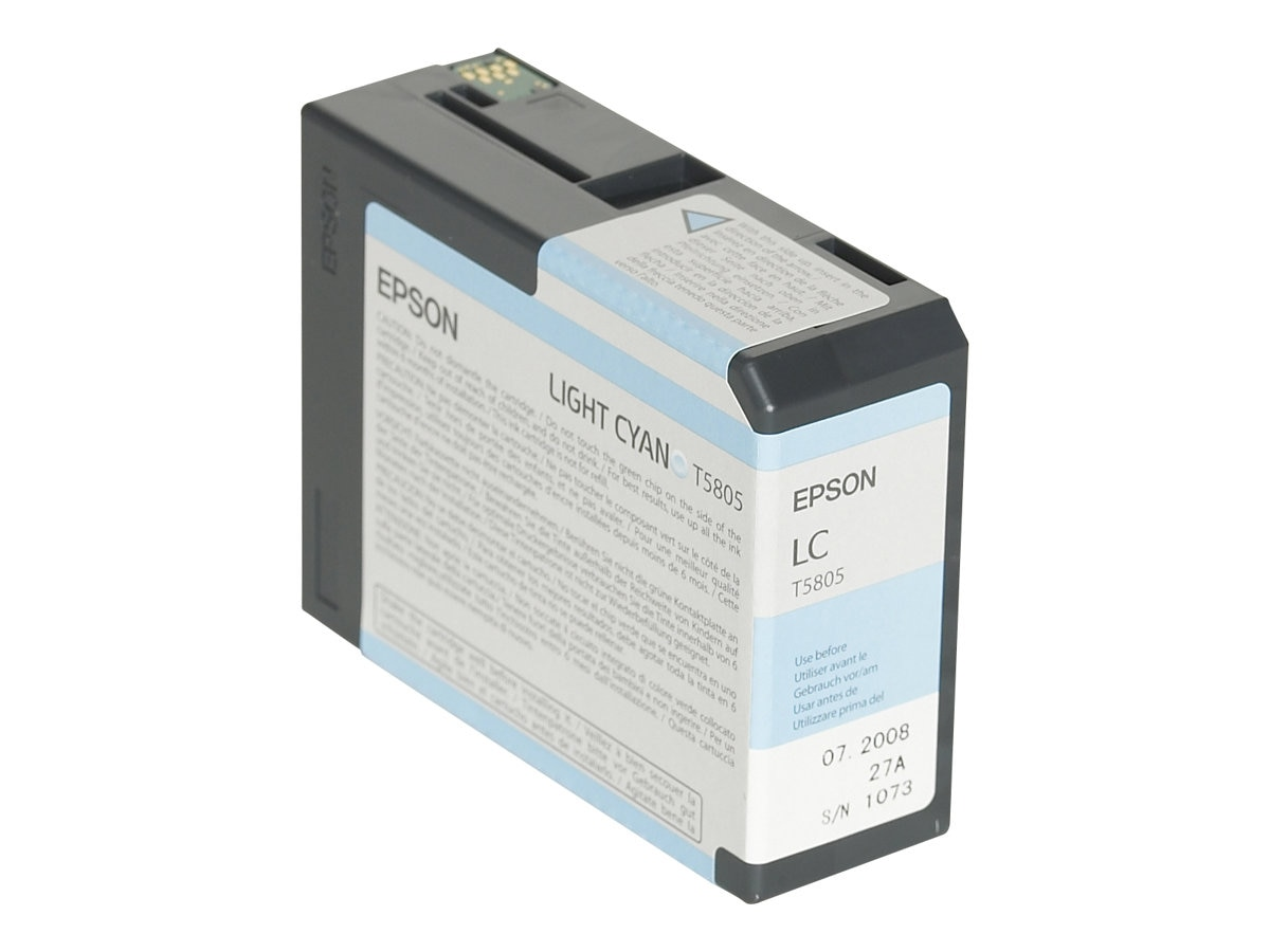 Epson Light Cyan UltraChrome K3 Ink Cartridge for Stylus Pro 3800 3800 Professional Edition, T580500