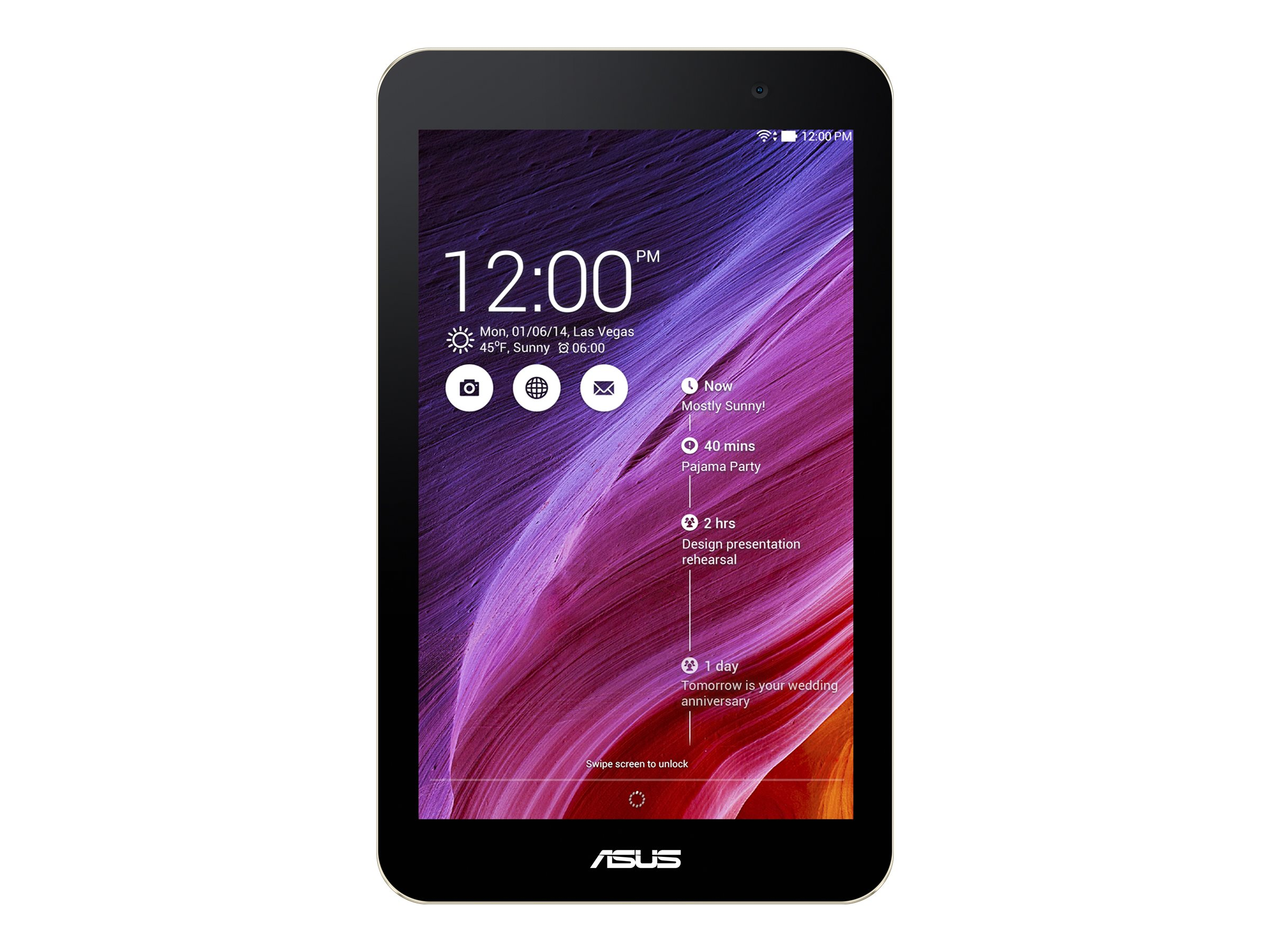 Asus MeMO Pad 7 Atom Z3745 2GB 16GB Flash 7, 90NK0131-M05630, 22157316, Tablets