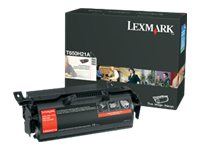 Lexmark Black High Yield Toner Cartridge for T650, T652 & T654 Series Printers, T650H21A, 9163818, Toner and Imaging Components