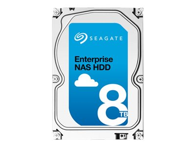 Seagate 8TB Enterprise NAS SATA 6Gb s 3.5 Internal Hard Drive, ST8000NE0001