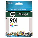 HP 901 Tri-Color Officejet Ink Cartridges (3-pack)