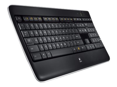 Logitech K800 2.4GHz Wireless Illuminated Keyboard, 920-002359